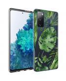 Design voor de Samsung Galaxy S20 FE hoesje - Bladeren - Groen