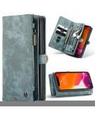 Luxe Lederen 2 in 1 Portemonnee Booktype voor de iPhone 12 Mini - Groen