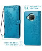 Mandala Booktype voor de Xiaomi Mi 10T Lite - Turquoise