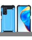 Rugged Xtreme Backcover voor de Xiaomi Mi 10T (Pro) - Lichtblauw