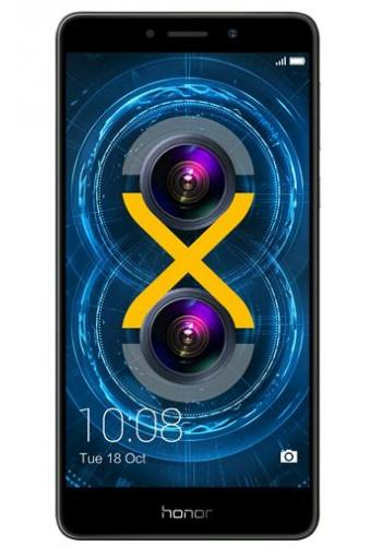 Honor HUAWEI Honor 6X 5.5 inch FHD 2.5DScreen Android 6.0 Smartphone Hisilicon Kirin 655 Octa Core 3GB RAM 32GB ROM 12.0MP2.0MP Dual Rear Cameras Touch ID VoLTE - Gray 32GB