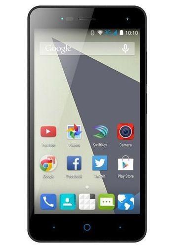 ZTE 5 inch Dual-SIM smartphone Android 5.0 Lollipop 1.3 GHz Quad Core Grijs